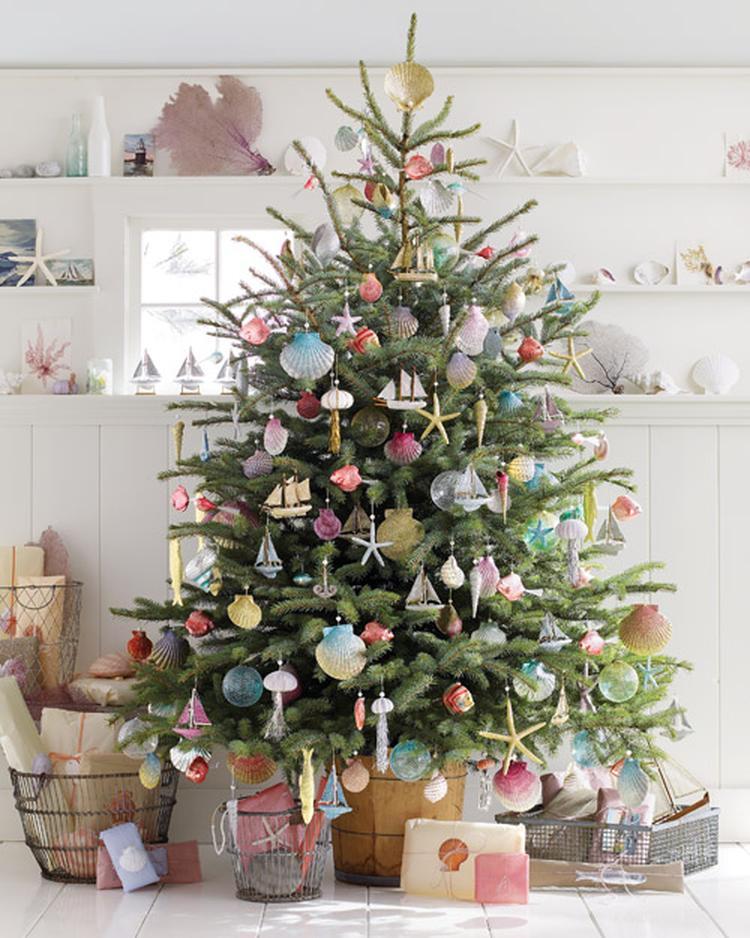 pastelkleurige kerst. weg met de traditionele kerstkleuren! dit jaar