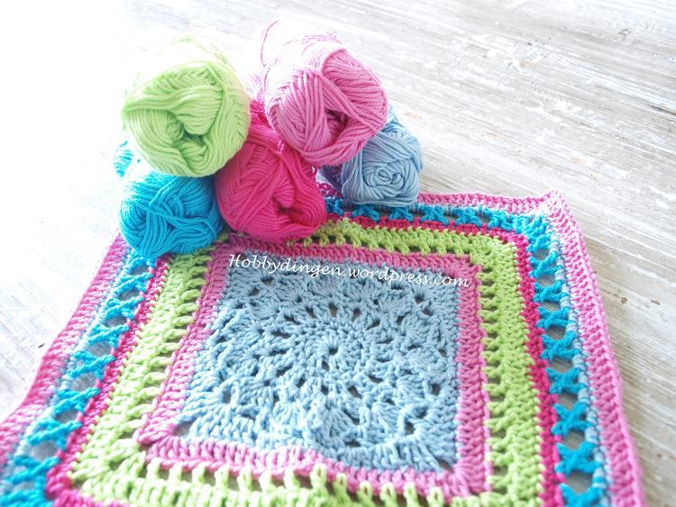 Mijn Deken Cal 2015 Crochet Along Kleurencombinatie Haken Foto