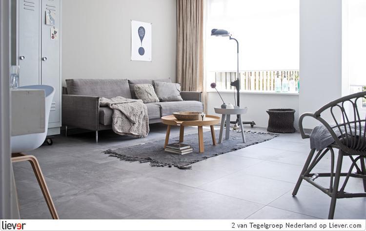 Vloertegels Woonkamer Voorbeelden : Best witte vloertegels woonkamer
