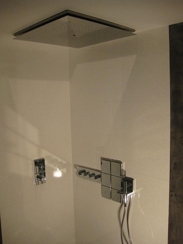 voor een badkamer zonder voegen is beton ciré de ideale, Badkamer