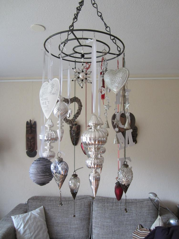 Mijn lint hanger met spulletjes van de blokker, action, xenos en ...