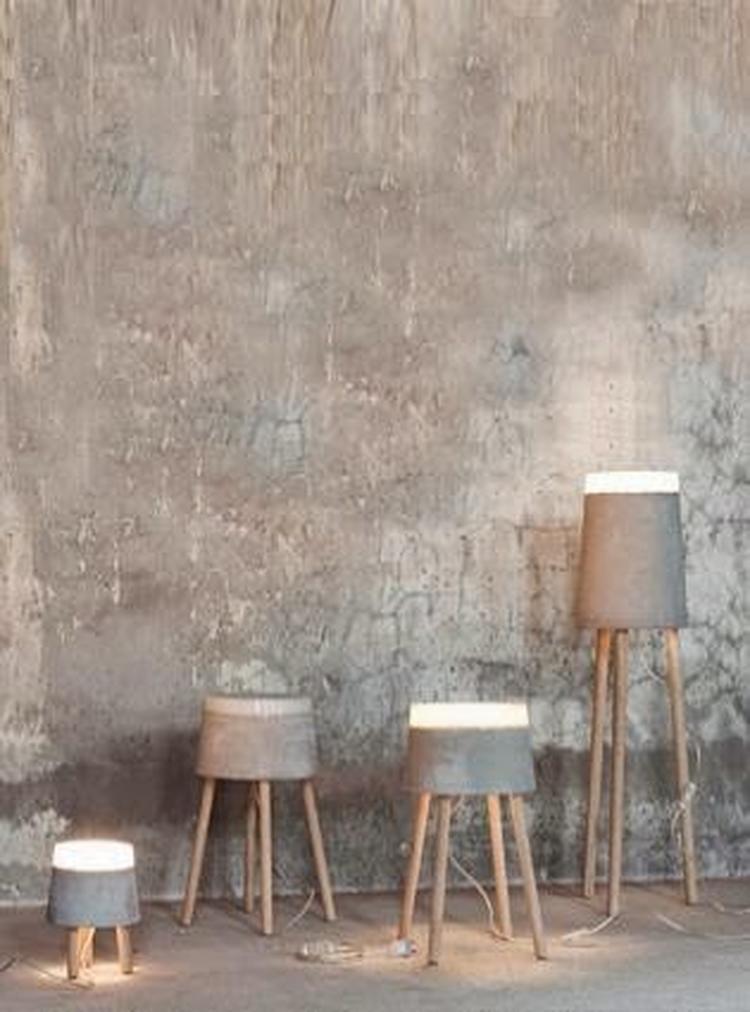 beton industrieel interieur industrià le woonkamer
