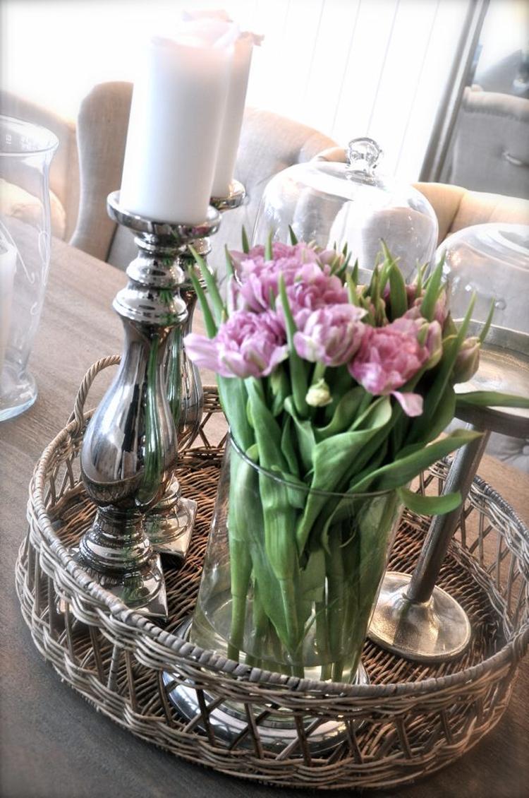 Decoratie op eettafel zi 95 blessingbox for Decoratie tafel landelijk