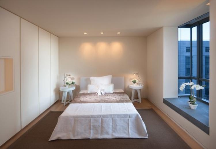 rustgevende slaapkamer in natuurlijke kleuren deze slaapkamer straalt gewoon rust uit de naturelkleuren passen