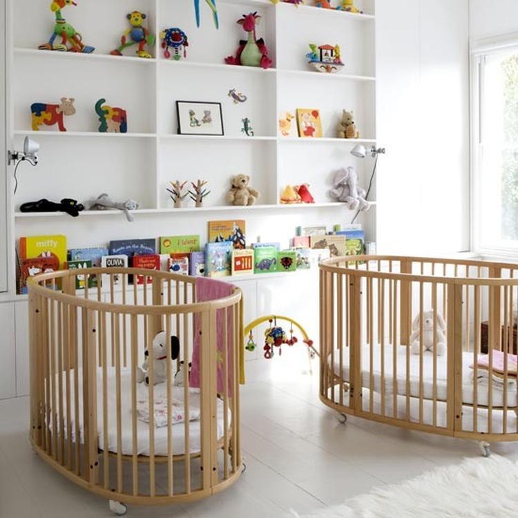 Wonderlijk Kinderkamer voor een tweeling. Wat een leuk idee zo deze kamer VM-27