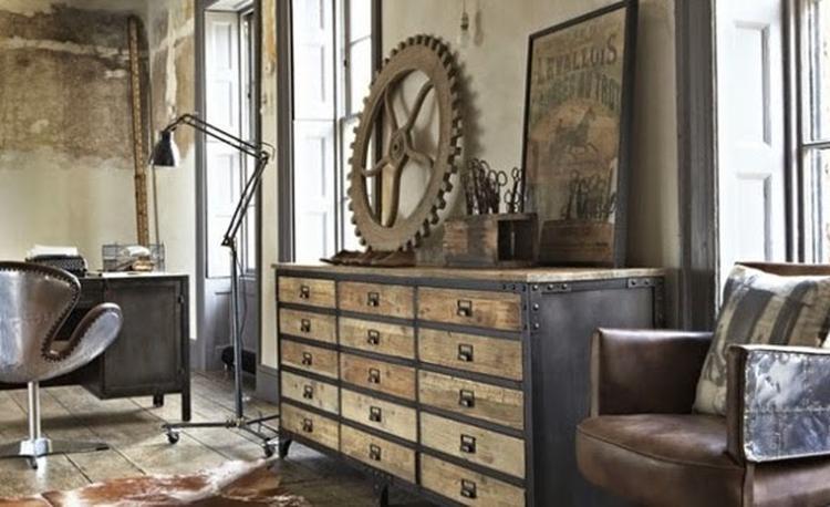 Eenvoudige Industrieel Woonkamer : Industrieel interieur industriële woonkamer foto geplaatst door