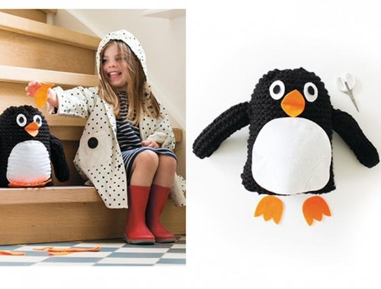 Knuffel Haken Volledig Pakket Voor Het Maken Van Een Pinguin Leuk