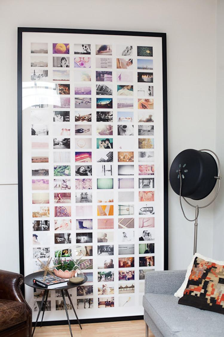 Fotokader Verschillende Fotos.Enorme Fotolijst Met Plaats Voor Veel Foto S Met Zo N Enorme