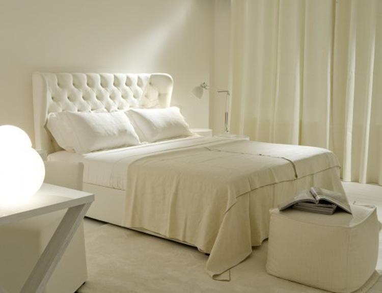 Beddengoed in de kleur van de slaapkamer. Wanneer je kiest voor ...