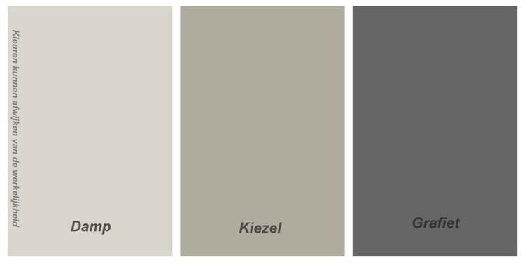 mooie kleuren van Histor voor de woonkamer/keuken. Foto geplaatst ...
