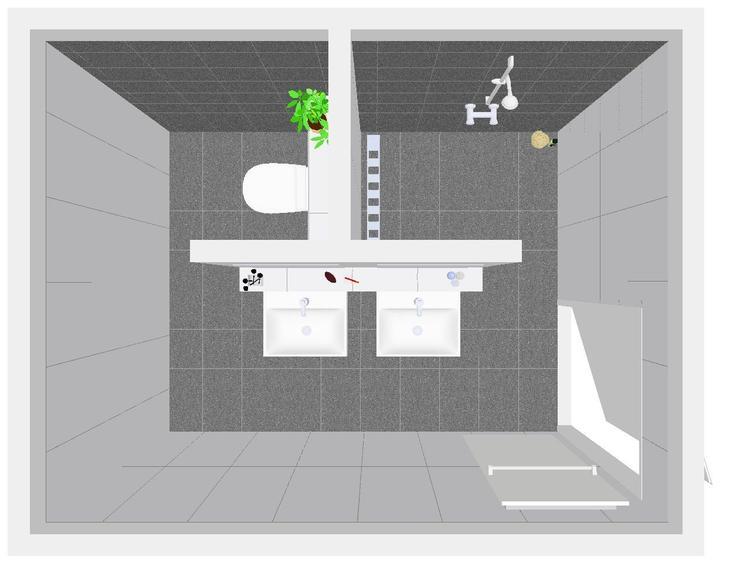 Handige Indeling Badkamer : Leuk idee voor de indeling van onze badkamer foto geplaatst door