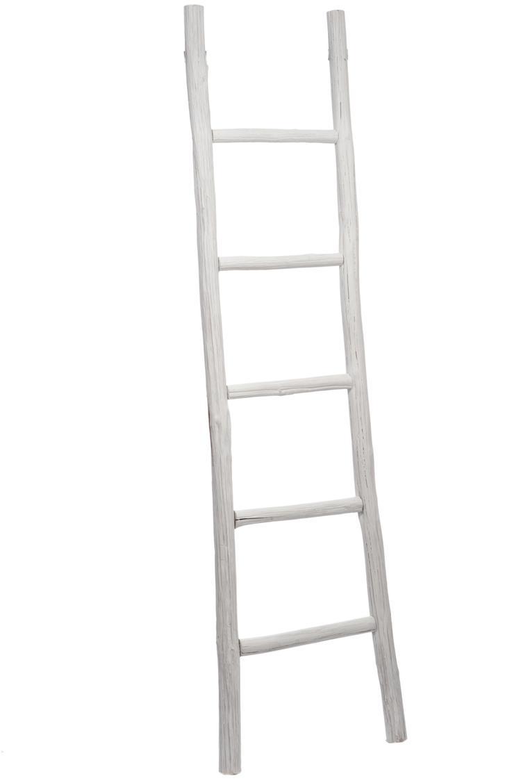 Prachtige houten decoratie ladder. 5 treden. Erg leuk voor ...