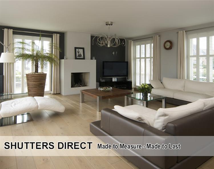 Shutters voor onze nieuwe woning in combinatie met gordijnen.. Foto ...