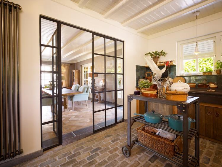 Welke Nl Keuken : Nieuwe stalen deuren in de keuken laten plaatsen.. foto geplaatst