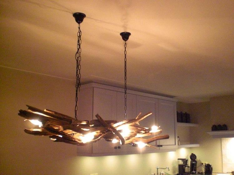 Landelijke lampen - Made in Agelo Prachtige lamp / hanglamp van ...