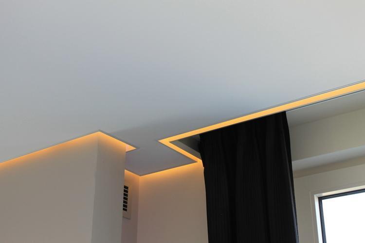LED koofverlichting verlaagd plafond. Foto geplaatst door Denize op ...