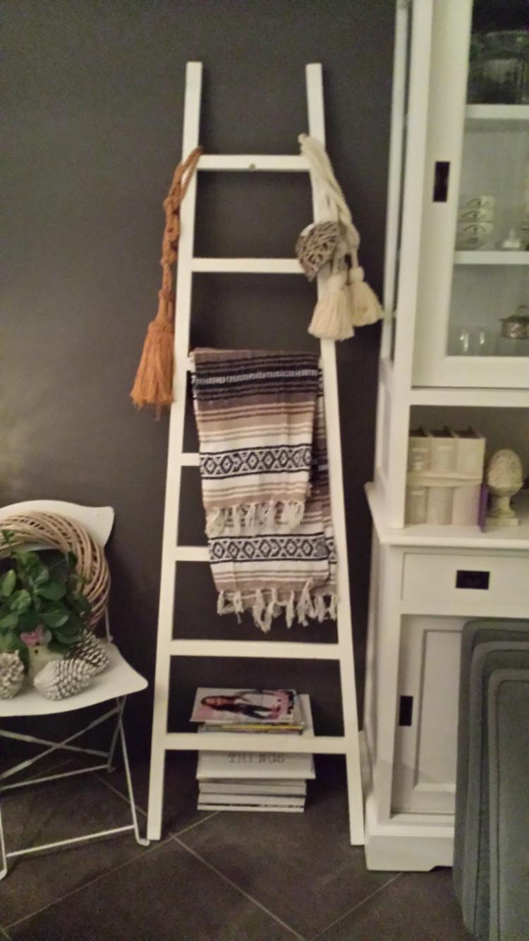 Decoratieve Ladder 200 Cm Foto Geplaatst Door Delaantje Op
