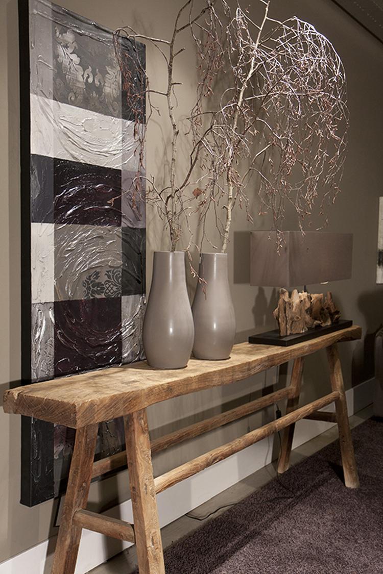 Sidetable Donker Hout.Side Table Oud Hout Foto Geplaatst Door Laarderheide Op