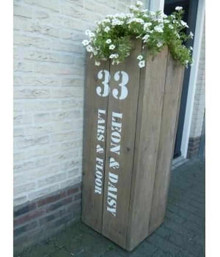 Iets Nieuws Naambord Steigerhout Buiten AT96 | Belbin.Info @QY65