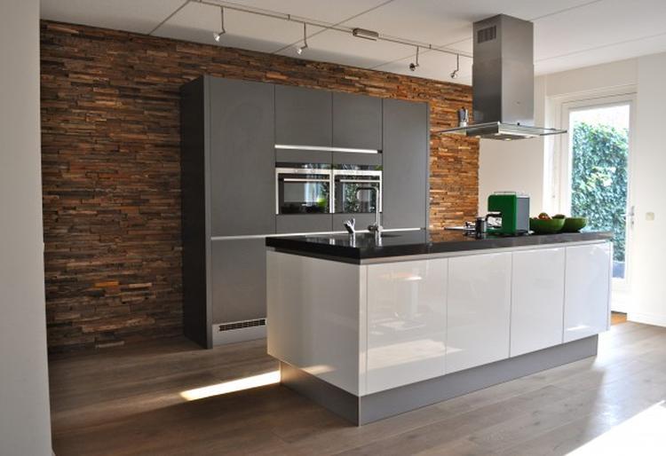 Achterwand Modern Keuken : Stijlidee gaf interieuradvies voor deze modern landelijke keuken