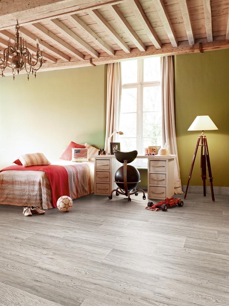 Vloer van laminaat in de slaapkamer Meer informatie: Kwaliteitparket ...