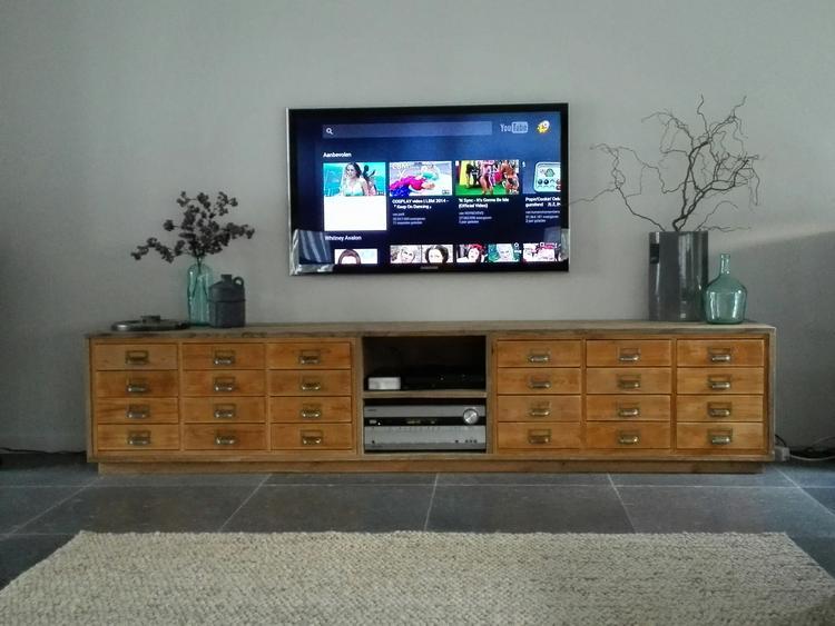 Diy Losse Ladenkast Van Marktplaats Verwerkt In Tv Meubel