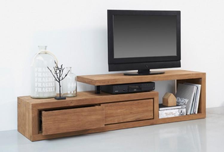 Aparte Tv Meubels : En zo wil ik het tv meubel maar dan in eikenhout foto geplaatst