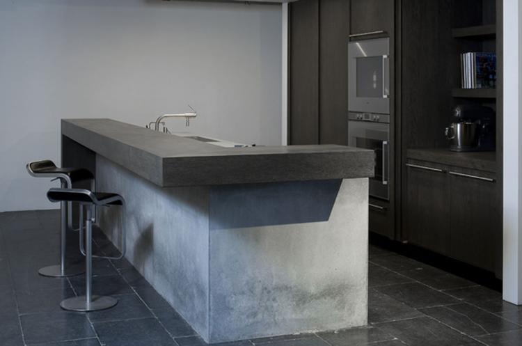 Keuken Moderne Bar : Keuken bar maken. elegant zelf keuken bar maken in luxe foto van