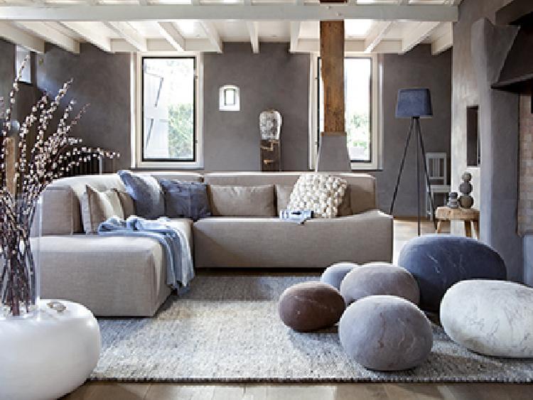 Rustige en natuurlijke uitstraling voor in de woonkamer . Foto ...