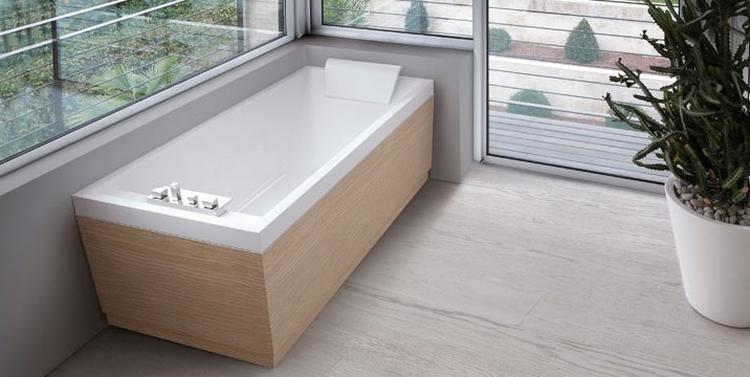 badkamer inbouw bad hout. Foto geplaatst door Kwyns op Welke.nl