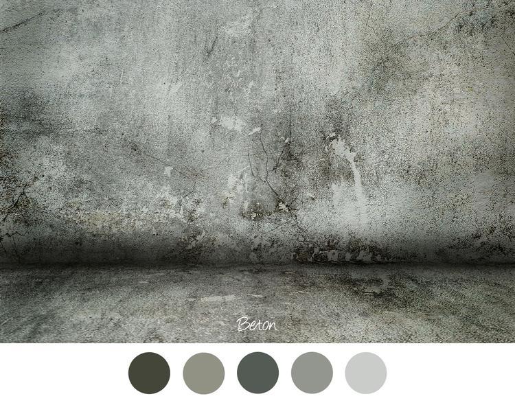 Beton beton look voor in het interieur industrieel grijs