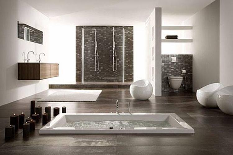 Bad en douche in badkamer amazing mooi kleine badkamer met bad en