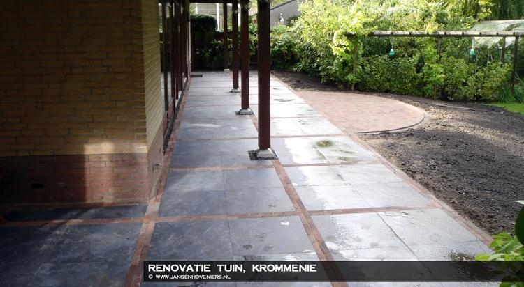 Voorbeeldfoto van internet gehaald voor ontwerp van ons terras