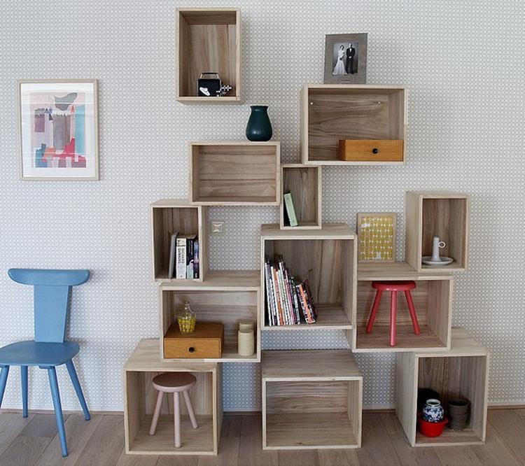 Mooi Houten Kistjes Met Leuke Spulletjes Er In Foto