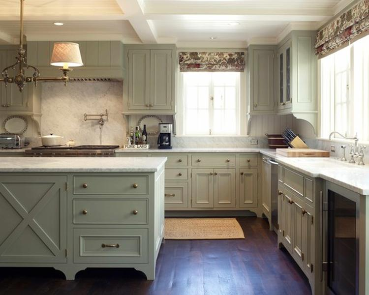 Een keuken in landelijke stijl. landelijk wonen op z'n best. foto ...