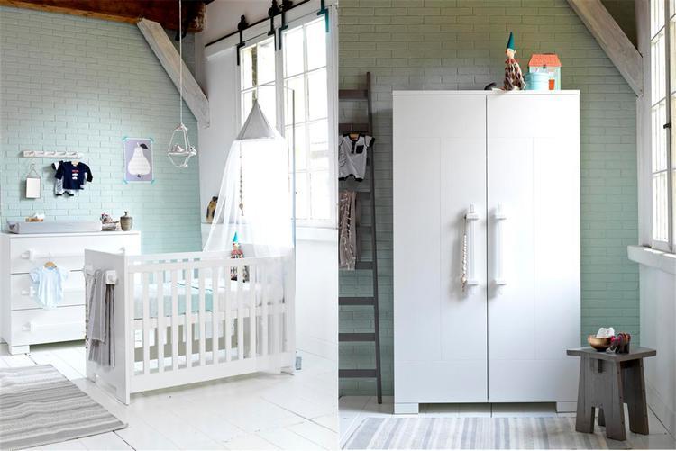 Inspiratie Babykamer Inrichting.Mooi Voorbeeld Van Inrichting Babykamer Met Pastel Wit Met Mint