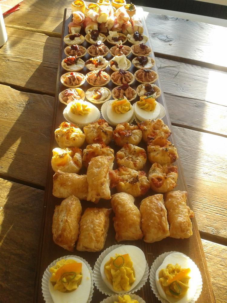 Zeer lekkere hapjes voor een feestje. Foto geplaatst door gerda1 op  #AA14