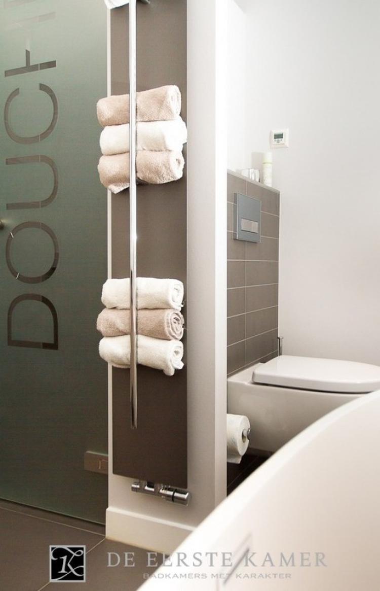 badkamer handdoeken oprollen. Foto geplaatst door Bloemetje234 op ...