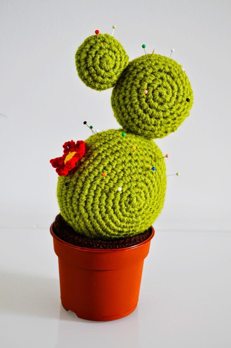 Diy Cactus Speldenkussen Haken Het Patroon Vind Je Op Mijn Blog