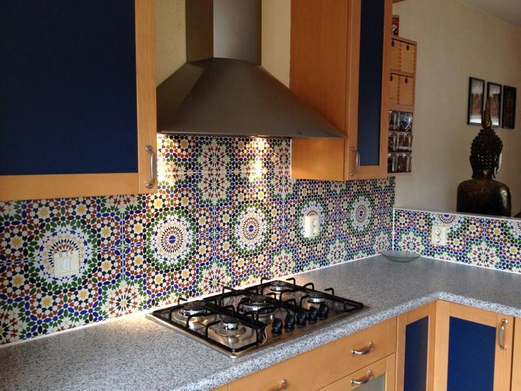 Marokkaanse tegels keuken wit portugese tegels badkamer tegelaer