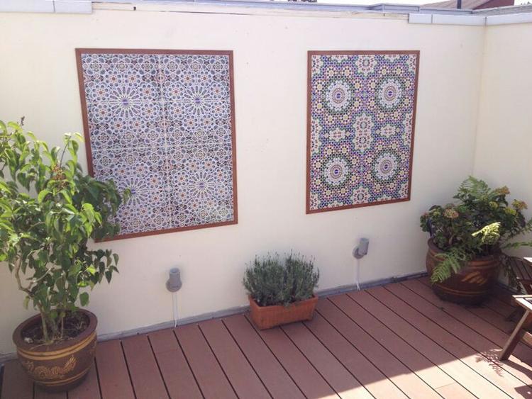 Marokkaanse Tegels Kopen : Tegels tuin portugese en marokkaanse tegels in de tuin with