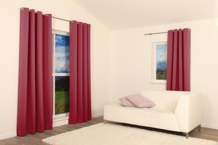 perfect zeilringen zorgen voor een stoer effect in je interieur de gordijnen hangen in diepe golvende with stoere gordijnen