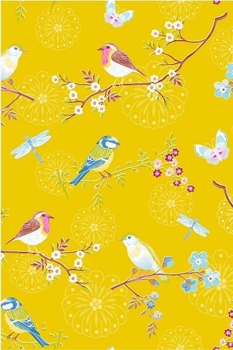 Vogeltjes Behang Lief.Enig Dat Vogeltjes Behang Foto Geplaatst Door Ierus Op