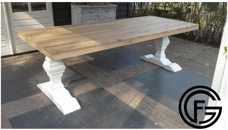 Robuuste Eiken Tafel : ≥ mooie robuuste eiken tafel eetkamer tafel cm tafels
