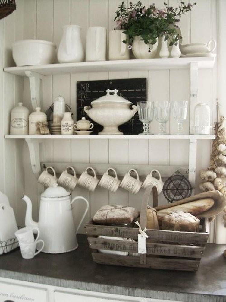 Wandplank Keuken Landelijk.Mooi In Een Landelijke Keuken Foto Geplaatst Door Elsdenbels Op