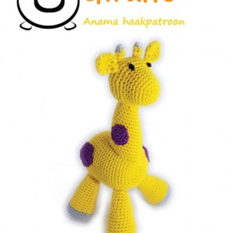 Patroon Om Zelf Een Knuffel Giraffe Te Haken Leuk Als Zelfgemaakt
