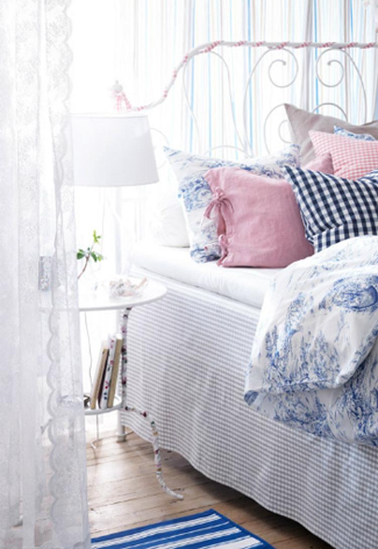 Gordijnen Van Ikea Voor Een Romantisch Tintje Op De Babykamer Foto