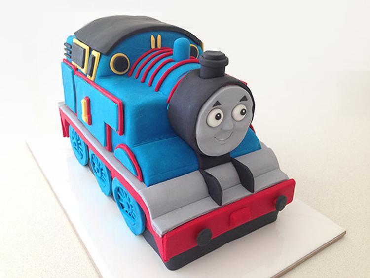 Favoriete Wie kan mij helpen. Deze Thomas de trein taart komt van de website &AV27