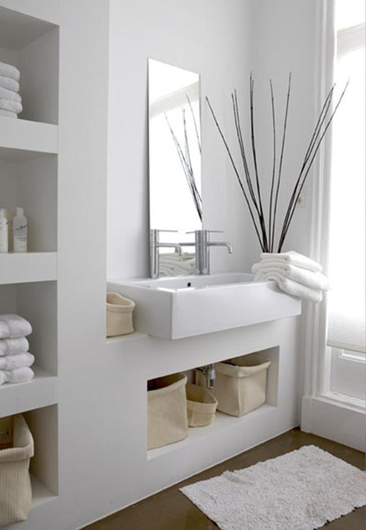 Badkamer nisje. Foto geplaatst door BrendaB op Welke.nl