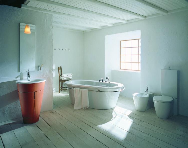 Landelijke Kranen Badkamer : Landelijke badkamer met axor starck in deze badkamer wordt een